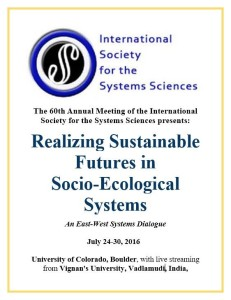 Realizing Sustainable Futures in Socio-Ecological Systems